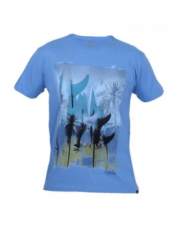 Camiseta Quiksilver Board Beach - Azul