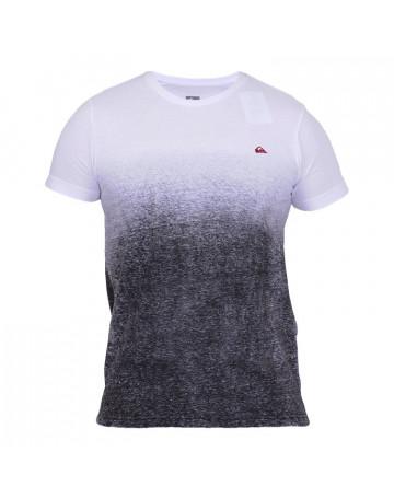 Camiseta Quiksilver Horizon - Branca/Preta