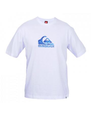 fc00229cd6 Camiseta Quiksilver New Wave - Branca Azul