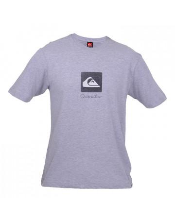 Camiseta Quiksilver Square Mini - Cinza