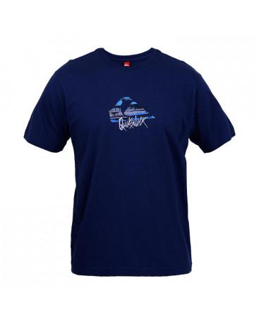 Camiseta Quiksilver Ink - Azul