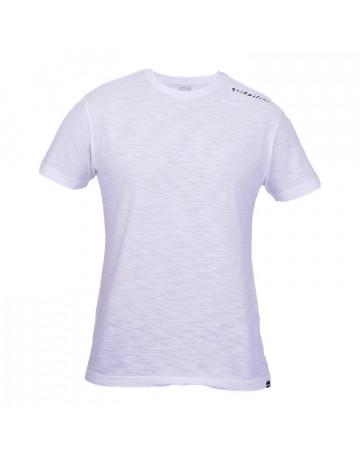 Camiseta Quiksilver Basic Written - Branca