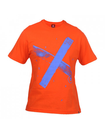 Camiseta Quiksilver Cross - Laranja