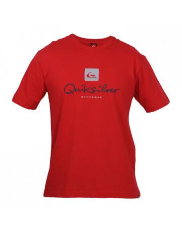 Camiseta Quiksilver Waterman - Vermelha