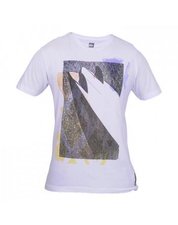 Camiseta Quiksilver Double Keel - Branca