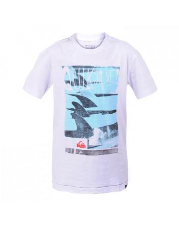 Camiseta Quiksilver Juvenil Surfing