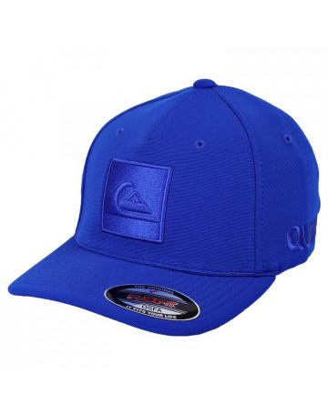 Boné Quiksilver Hard Hitter New Tech - Letreiro - Azul   Loja de Surf 729627211f