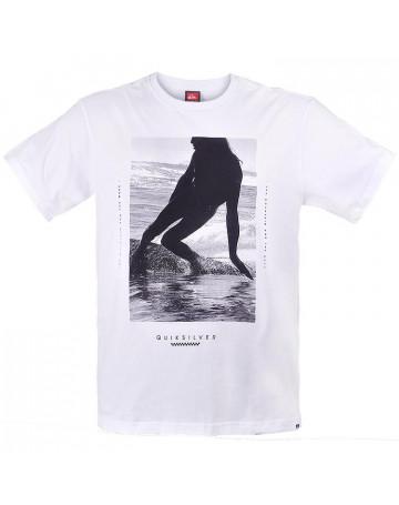 Camiseta Quiksilver Takes One - Branco