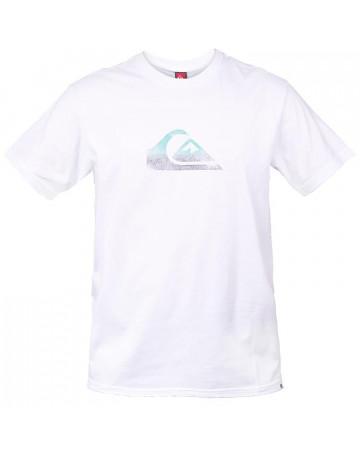 Camiseta Quiksilver Night Cap - Branco