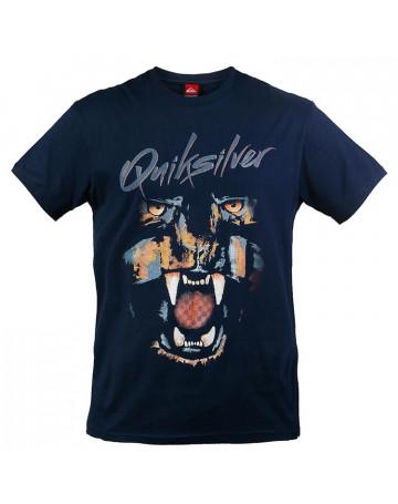 Camiseta Quiksilver Party Panther - Azul Escuro