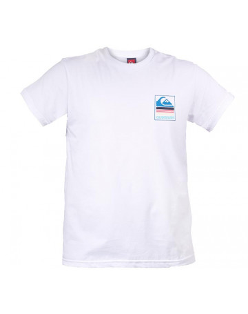 Camiseta Quiksilver Pack White 01 - Branco