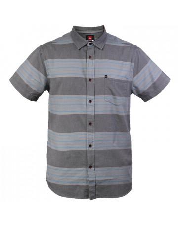 Camisa Quiksilver Redondo - Cinza