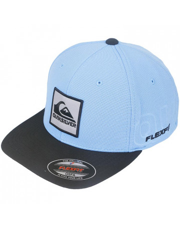 Boné Quiksilver On Reflect - Azul   Loja de Surf d55fd15e8a