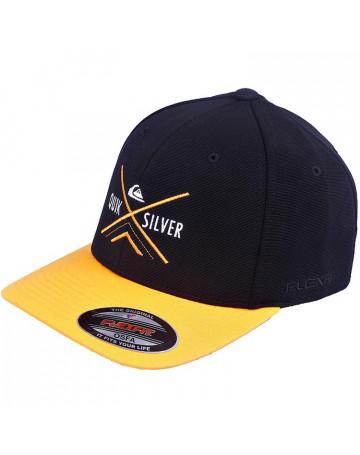 Boné Quiksilver X Graphic - Amarelo  b4eeb13b3c09d