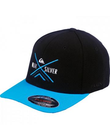 Boné Quiksilver X Graphic - Azul  cc12f4dbc5658
