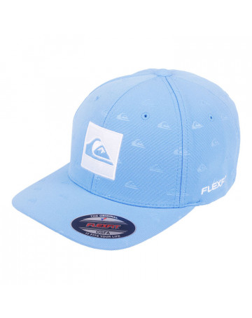 ee3ec70d1a42a Boné Quiksilver Allover - Azul Claro