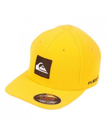 Boné Quiksilver Hard Hitter 4.5 - Letreiro - Amarelo   Loja de Surf 9d5f4c864a