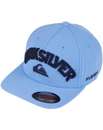 Boné Quiksilver New Applique II - Azul