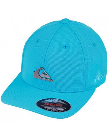4d45f2a815400 Boné Quiksilver Juvenil Metal Patch - Azul   Loja de Surf