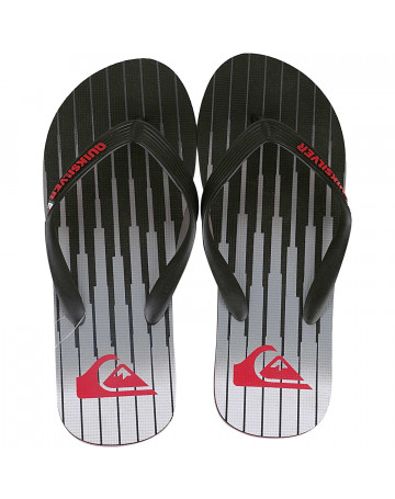 Chinelo Quiksilver Molokai Equalize Cinza