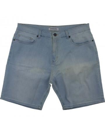 Bermuda Quiksilver Jeans New Compressor Clear - Azul