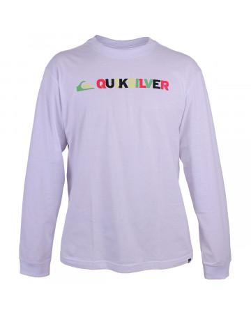 Camiseta Quiksilver Manga Longa Pack Rasta Branca  676e89a9d5b