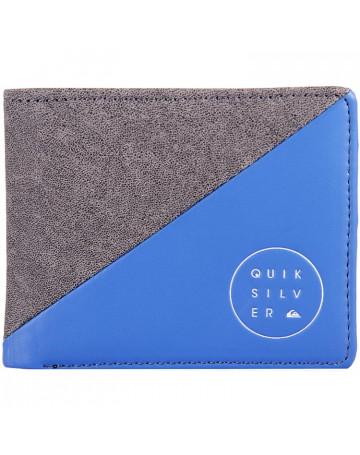Carteira Quiksilver Slim Cut - Azul