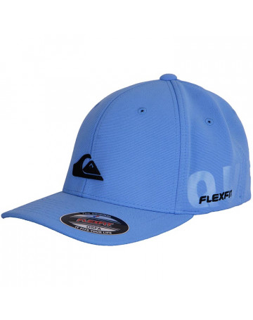 Boné Quiksilver Metal Patch - Azul Claro  2f83d18ed78