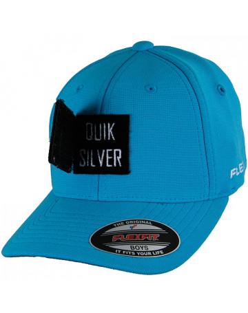 Boné Quiksilver Juvenil 3layer - Azul I   Loja de Surf 41b7adf8da
