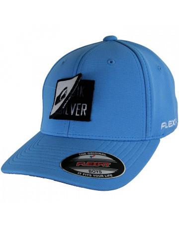 Boné Quiksilver Juvenil 3layer - Azul II  d25dcc7c103