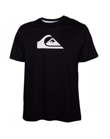 a04bb4881fbfd Camiseta Quiksilver Essential Logo - Preto
