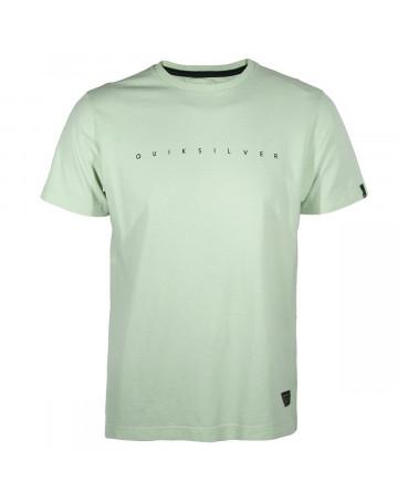 Camiseta Quiksilver Turn - Verde Claro