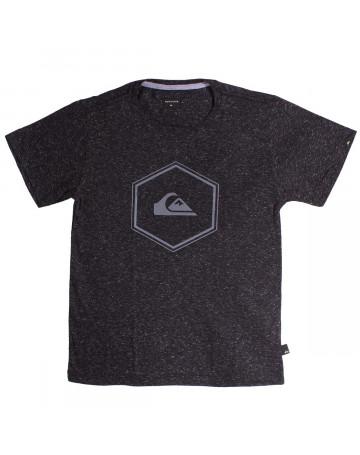 628a452bfc885 Camiseta Quiksilver Juvenil Pack Sudão - Preto Mescla
