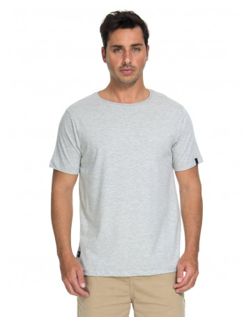 Camiseta Quiksilver Hiroshima - Cinza