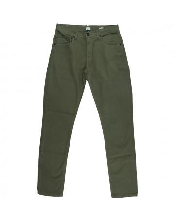 Calça Quiksilver Jeans Paper Color Verde