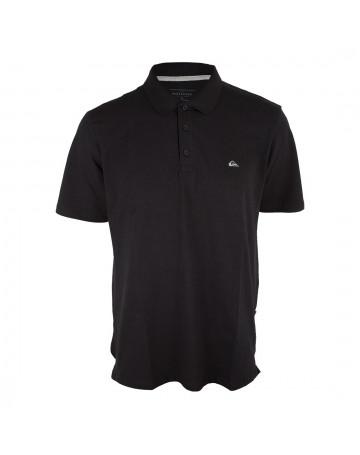 Camisa Polo Quiksilver Cotton II Preta