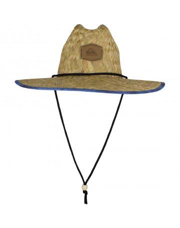 Chapéu de Palha Quiksilver Outsider - Palha Azul  1094d2a317e