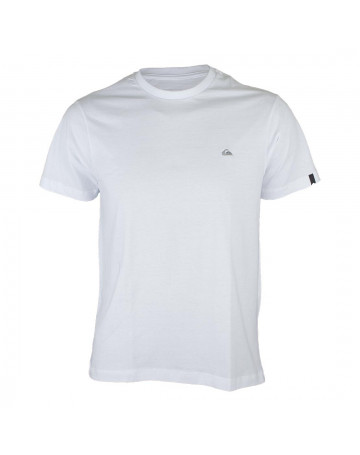 Camiseta Quiksilver Chest Embroidery Branca