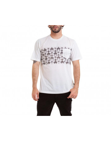 Camiseta Quiksilver Planet Of The Lost - Creme