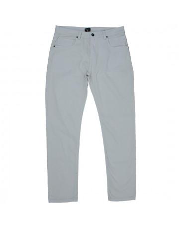 Calça Quiksilver Jeans Paper Color Cinza