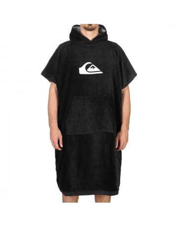 Poncho Toalha Quiksilver Hoody Towel Preto 1
