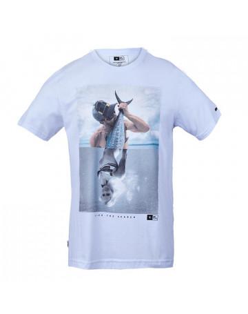 Camiseta Rip Curl Fish - Branca