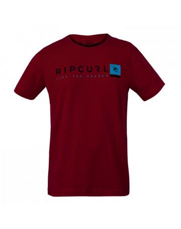 Camiseta Rip Curl Special - Vermelho