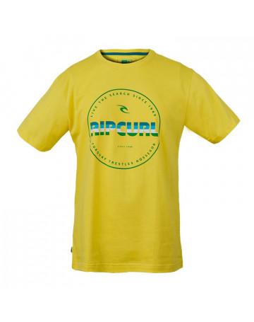 Camiseta Rip Curl 1969 - Amarela