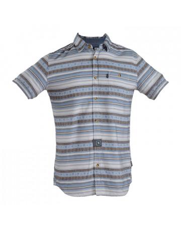 Camisa Rip Curl Badlands - Listrada - Azul