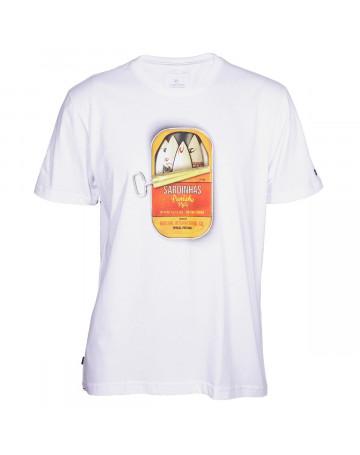 Camiseta Rip Curl Sardinhas Peniche - Branca  288a4992ef4