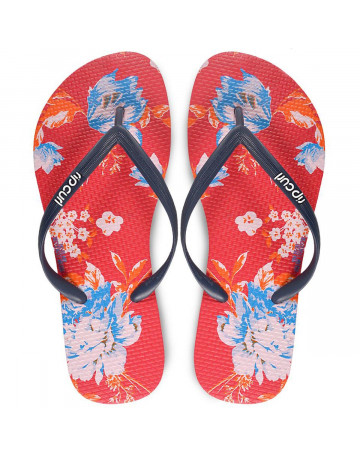 Chinelo Rip Curl Eastern Tide - Vermelho/Floral