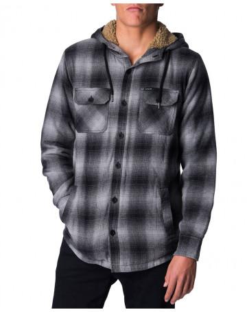 bef9ce15cbd14 Camisa Rip Curl Rail - Cinza Mescla