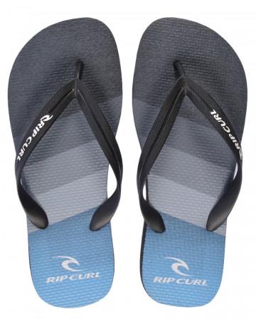 Chinelo Rip Curl React - Preto/Azul