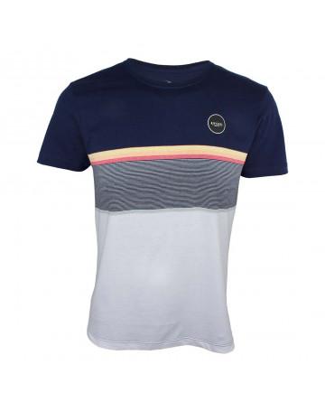 Camiseta Rip Curl Rapture - Azul/Branco